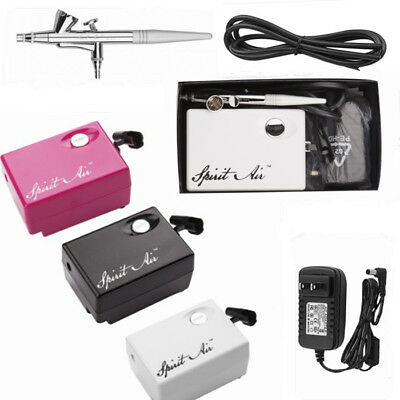SP16 Beauty Special Air Compressor Brush Suit Airbrush for Makeup Manicure 0.4mm