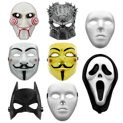 Batman / Scream / Vendetta / Guy Fawkes / Saw / Predator Maske Halloween Kostüm