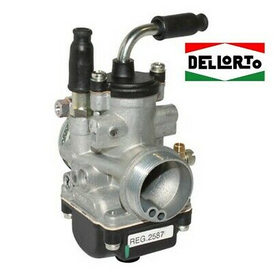 Carburateur DELLORTO 19.5 AD PHBG MBK 51 PEUGEOT 103 AM6 pipe rigide DELL ORTO