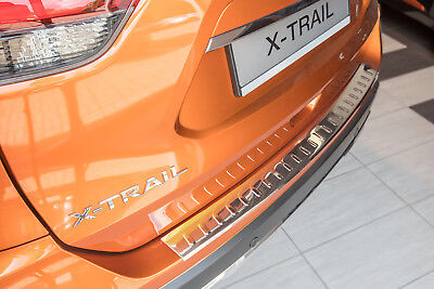stainless steel boot sill protection for NISSAN X-Trail 3 Year 2014