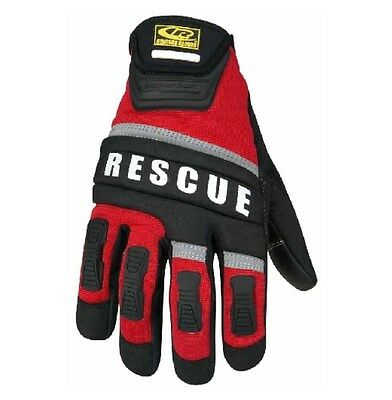 New Authentic Ringers Gloves Rescue Glove Red Size Medium 345-09