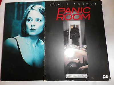 Panic Room (DVD, 2002, The Superbit Collection) FREE S&H