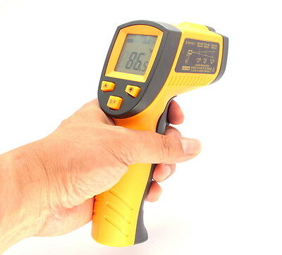 Non-Contact LCD IR Infrared Laser Thermometer Digital Temperature Gun -58℉~752℉