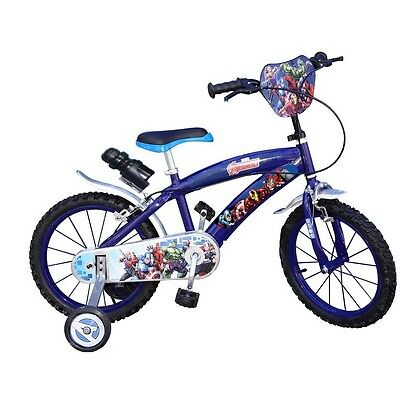 16 zoll kinderfahrrad kinder fahrrad jungen avengers 5 6 7. Black Bedroom Furniture Sets. Home Design Ideas