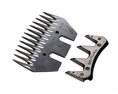Stainless Steel Blade Replacement Curved Blades For Sheep Livestock Shears GTS