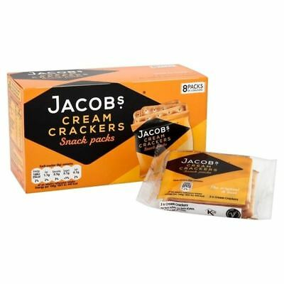 Jacobs Cream Crackers Snackpack 192g