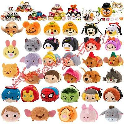 "New Arrival 2016 Halloween Xmas Tsum Tsum 3 1"" Mini Plush Toy Stackable Doll"
