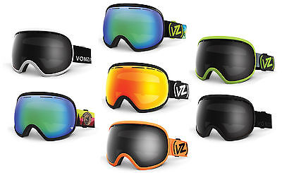 Von Zipper Fishbowl Snowboard and Ski Goggles 2016 Oversized XL Goggle Spherical