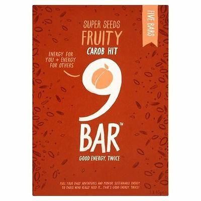Wholebake Free From 9Bar Fruity 5 x 40g