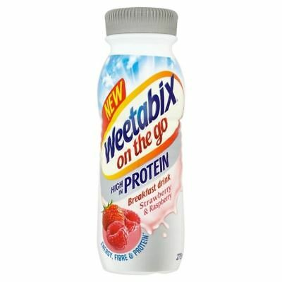 Weetabix On The Go Strawberry & Raspberry Protein Drink 275ml