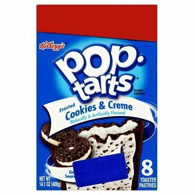 Kellogg's Pop Tarts Frosted Cookies & Cream 400g