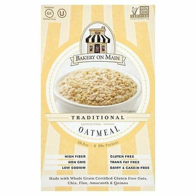 Bakery On Main Instant Oatmeal No Sugar 6 x 50g