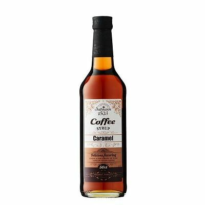 Saturnus 1893 Caramel Coffee Syrup 500ml
