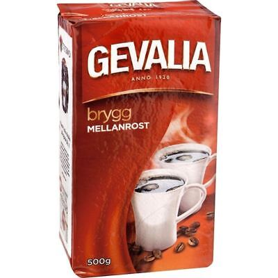 Gevalia Kaffe Mellanrost - Medium Roast Ground Filter Coffee 500g