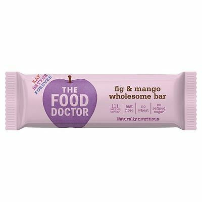 The Food Doctor Fig & Mango Bar 35g