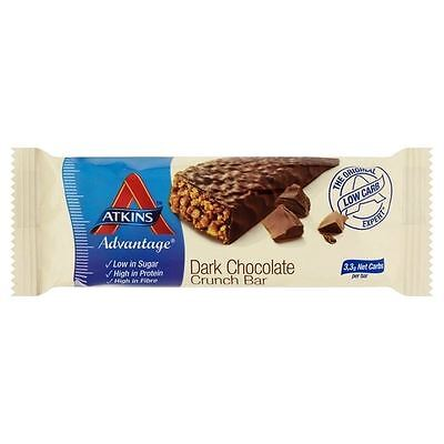 Atkins Advantage Dark Chocolate Crunch Bar 60g