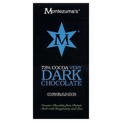 Montezuma's Dark Chocolate Bar 100g