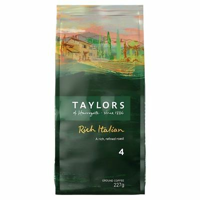 Taylor's Rich Italian Dark Roast Ground Coffee 227g