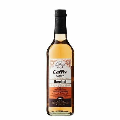 Saturnus 1893 Hazelnut Coffee Syrup 500ml