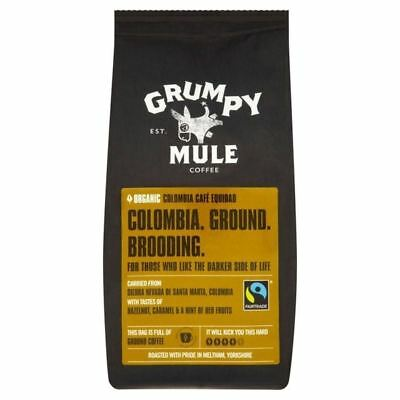 Grumpy Mule Organic Colombia Ground 227g
