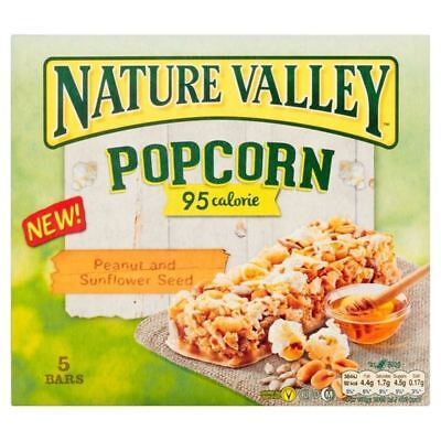 Nature Valley Popcorn Bars Peanut & Seeds 5 x 20g