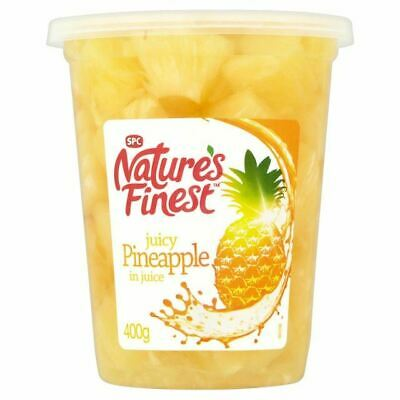 Nature's Finest Pineapple Chunks in Juice 400g