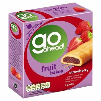 Go Ahead Strawberry Fruit Bake 6 x 35g