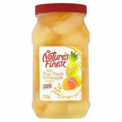 Nature's Finest Pear, Peach & Pineapple in Juice 700g