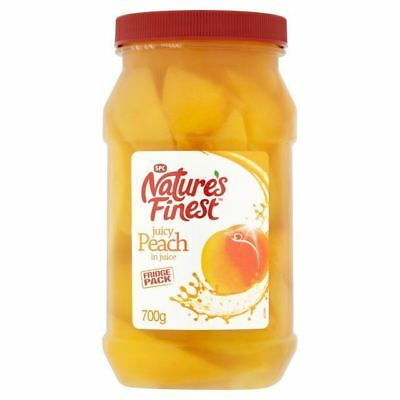 Nature's Finest Peach Slices in Juice 700g
