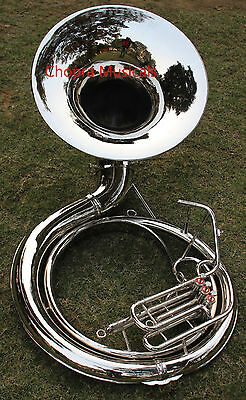 """Sousaphone Professional 25"""" Bell 3V Lagest Size 100% Bras Carring Bag n M/P Free"""