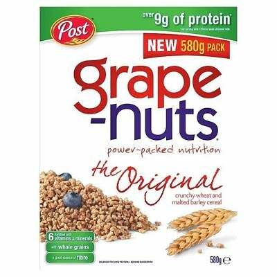 Grape-Nuts Crunchy Wheat & Malted Barley 580g