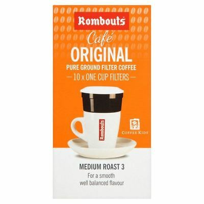 Rombouts Original Blend One Cup Filters 10 per pack