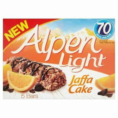 Alpen Light Jaffacake bars 5 x 19g