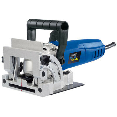 Draper 900W Biscuit Joiner Jointer Wood Work Saw Cutter In Case 83611