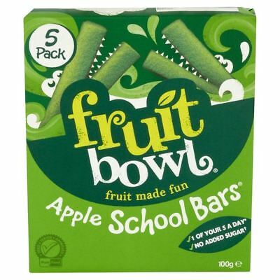 Fruit Bowl School Bars Apple 100g