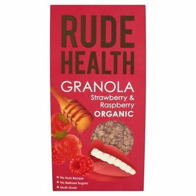 Rude Health Organic Strawberry & Raspberry Granola 450g