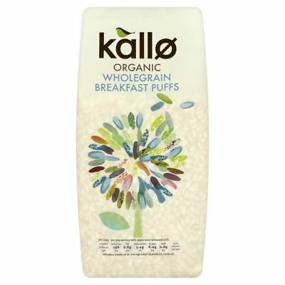 Kallo Gluten Free Organic Wholegrain Breakfast Puffs 225g