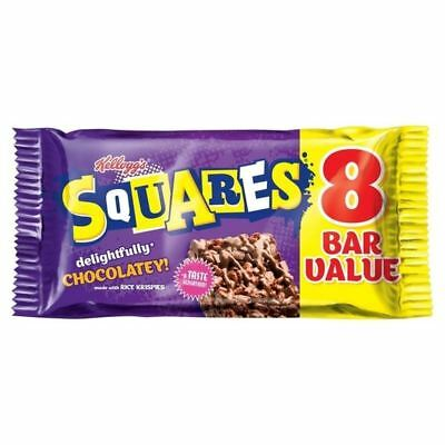 Kellogg's Squares Totally Chocolatey 8 x 34g • AUD 10.19