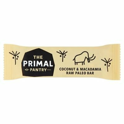 The Primal Pantry Coconut & Macadamia Paleo Energy Bar 45g