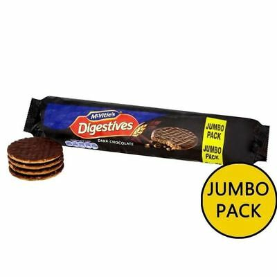 McVitie's Dark Chocolate Digestives Jumbo Pack 500g