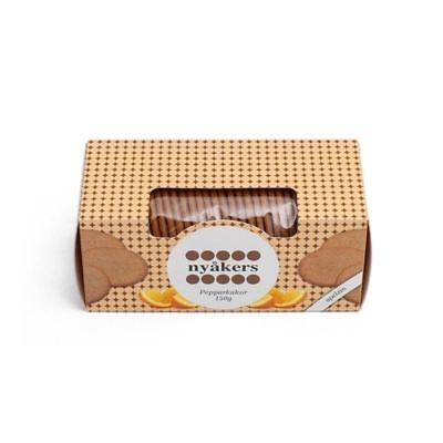 Nyakers Orange Ginger Bisquits 150g • AUD 6.99