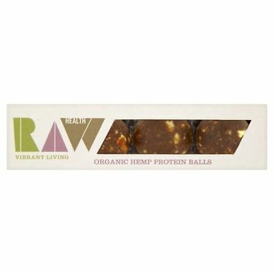 Raw Health Organic Hemp Protein Energy Balls 60g