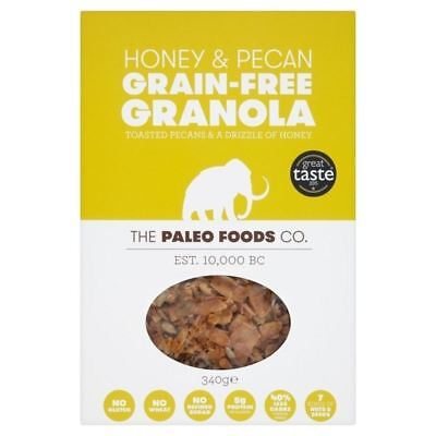 The Paleo Foods Co Honey & Pecan Grain-Free Granola 340g