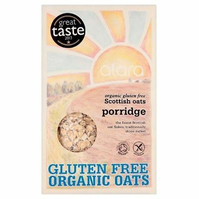 Alara Organic Gluten Free Scottish Oats Porridge 500g