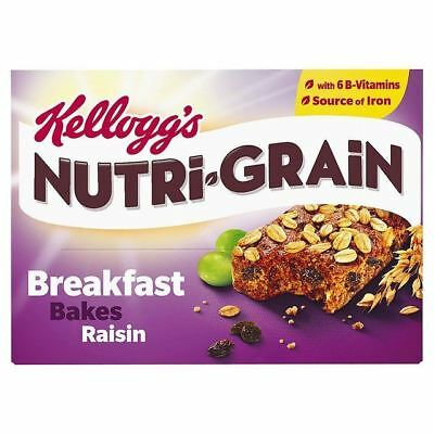 Kellogg's Nutri-Grain Elevenses Bars Raisin Bakes 6 x 45g