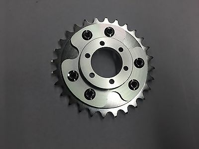 Motorized Bicycle Rear Cnc 28T Sprocket And Disc Adapter