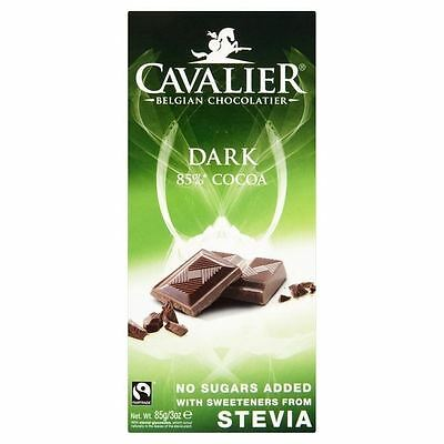 Cavalier Dark Chocolate Bar 85g