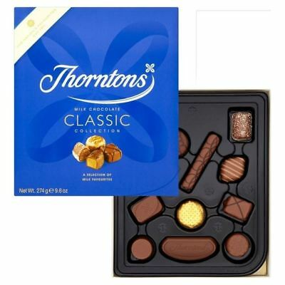 Thorntons Classics Milk Collection 274g