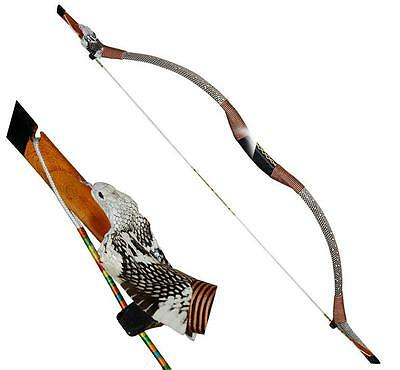Archery Chinese Recurve Bow Horsebow Target Arrows Longbow Hunting Collection