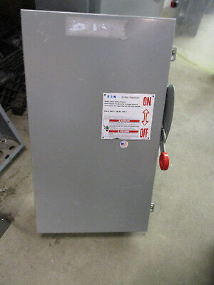 Cutler Hammer DH224NGK, 200 Amp 240 Volt 2 Pole NEMA 1 Fusible Disconnect NEW